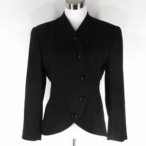 CHRISTIAN DIOR Pure Wool Jacket 6 Career Blazer
